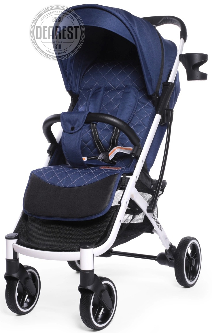 Прогулочная коляска Yoya Dearest 818 Plus Black без чехла на ножки